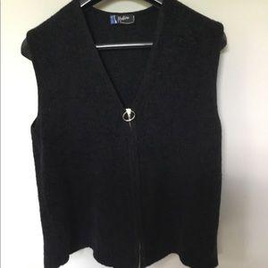 Vintage Claude Montana Knit Vest